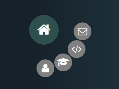 Animated Radial Menu with jQuery and CSS3 Transitions