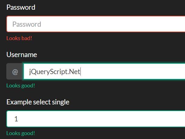 https://www.jqueryscript.net/form/Bootstrap-4-Form-Validator.html