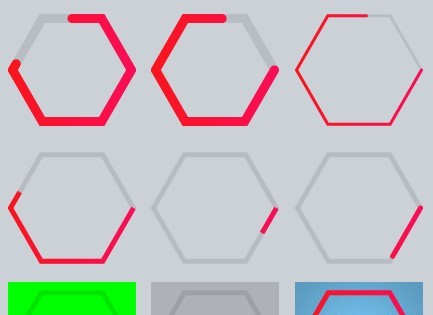 https://www.jqueryscript.net/loading/Canvas-Based-Hexagon-Progress-Bar-Plugin-with-jQuery-Hexagon-Progress.html