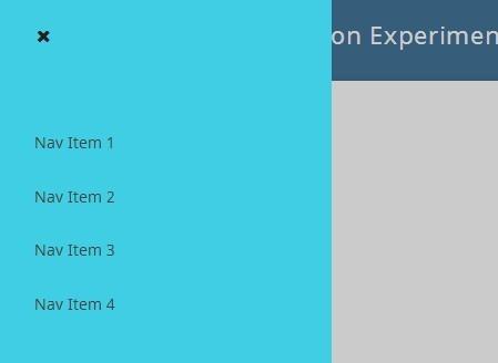 http://www.jqueryscript.net/menu/Cool-Morphing-Sidebar-Navigation-with-jQuery-CSS3.html