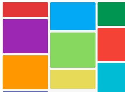 Minimalist Masonry-style Grid Layout Plugin - Masonry.js