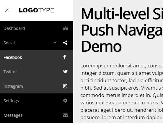 https://www.jqueryscript.net/menu/Multi-Level-Sidebar-Push-Navigation-jQuery-CSS3.html