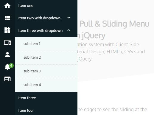 https://www.jqueryscript.net/menu/Pull-Slide-Navigation-Flat-Menu.html