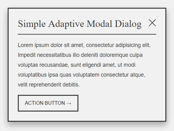 https://www.jqueryscript.net/lightbox/Simple-Adaptive-Modal-Dialog-Plugin-With-jQuery-CSS3.html