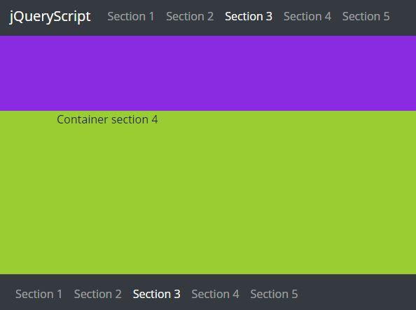 https://www.jqueryscript.net/menu/Single-Page-App-Navigation-jQuery-scroll2Section.html