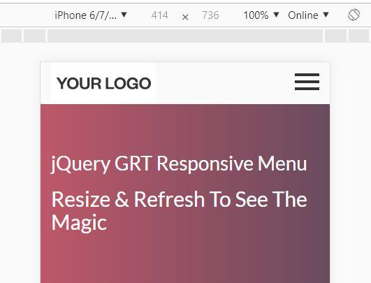 https://www.jqueryscript.net/menu/Sticky-Mobile-Navigation-GRT-Responsive-Menu.html