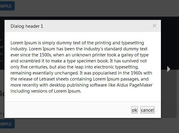 http://www.jqueryscript.net/lightbox/jQuery-Multi-Purpose-Popup-Modal-Plugin-popModal.html