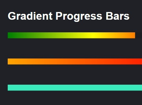 https://www.jqueryscript.net/loading/jQuery-Plugin-To-Create-Animated-Gradient-Progress-Bars.html