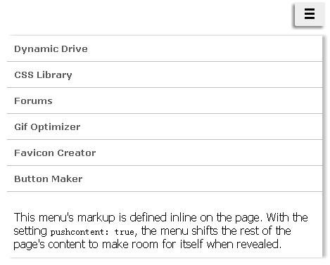 http://www.jqueryscript.net/menu/jQuery-Sidebar-Toggle-Menu-Plugin-sidetogglemenu.html