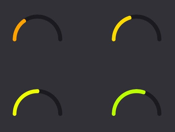https://www.jqueryscript.net/chart-graph/progress-gauge-simplegauge.html