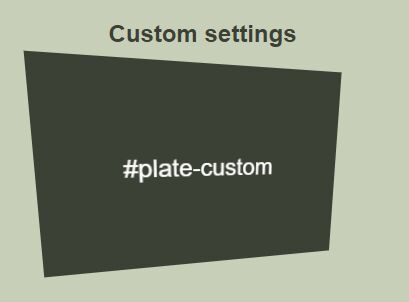 3D Interactive Hover Effect With jQuery And CSS3 - Plate