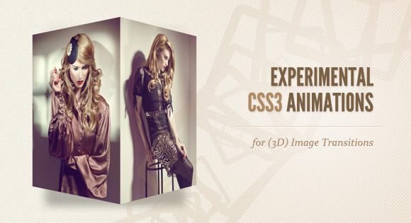 3D Image Transitions Animations