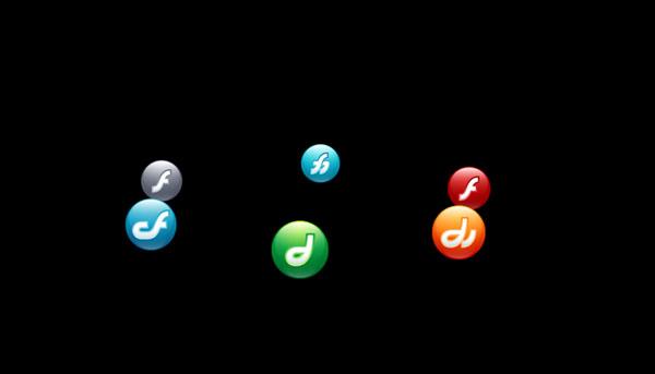 3D Multi Icons Rotator Plugin