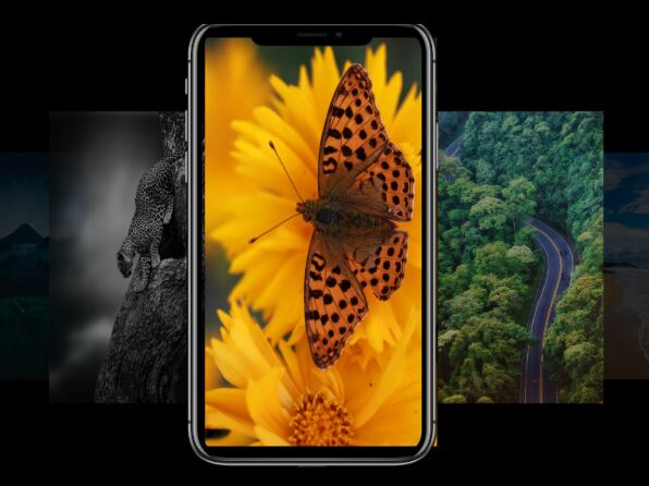 3D iPhone Carousel For Materialize Framework