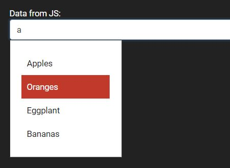 Multi Purpose AJAX Autocomplete In jQuery - bautofill