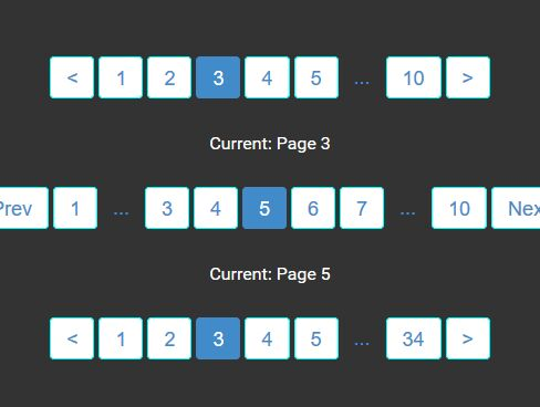 Easy AJAX-enabled Pagination Plugin For jQuery - Pagination.js