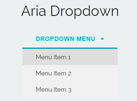 Accessible & Animated Dropdown Menu with jQuery and CSS3