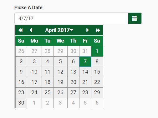 Year Calendar Jquery Plugin : Jquery yearly calendar date range picker plugin free