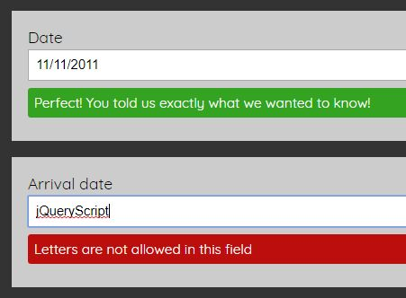 Accessible Client Side Form Validation Plugin - jQuery aria-validate