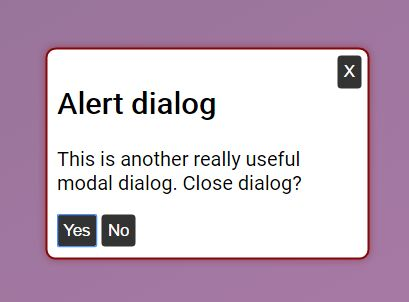 Accessible Modal/Alert Dialog Plugin With jQuery - aria-dialog