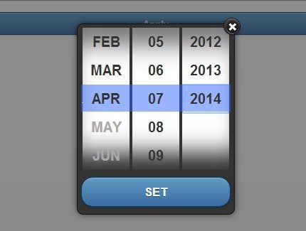 Accessible jQuery Date Picker For jQuery Mobile - mobile508datepicker