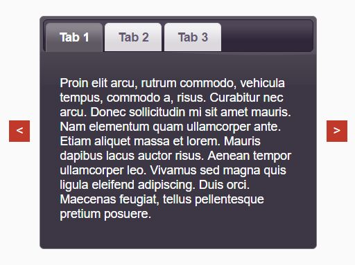 Add Navigation Buttons To jQuery UI Tabs Widget - Tabs.Neighbors