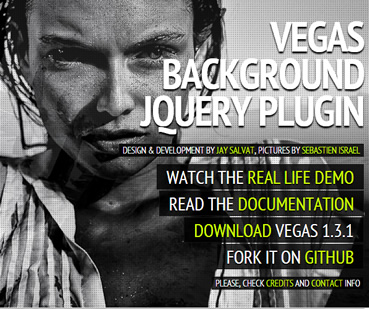 Amazing Background & Slideshow Plugin - Vegas