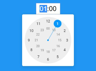 Android-style Analog Clock Time Picker Plugin With jQuery