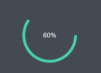 Animated Circular Progress Indicator Plugin With jQuery And Canvas