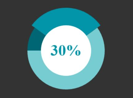 Animated HTML5 Pie Chart Plugin With jQuery - Rotapie