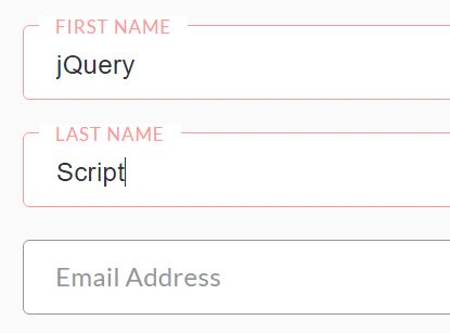 Animated Input Placeholder Plugin With jQuery And CSS3 - Placeholderr