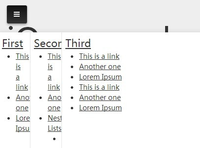 Animated Multi-Column Bottom Navigation with jQuery and CSS3 - rocker