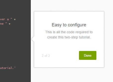 Animated Step-by-step Tooltip Site Tour With jQuery