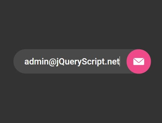 Creative Animated Subscription Form In jQuery - Subscription Animation