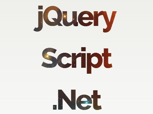 Animated Text-Mask Background with jQuery and CSS3
