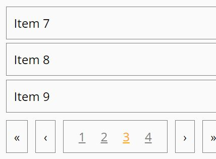 Any Content Pagination Plugin For jQuery - paginga