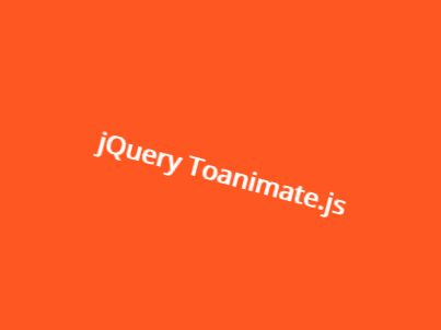 Apply CSS Animations To Elements On Scroll - jQuery Toanimate.js