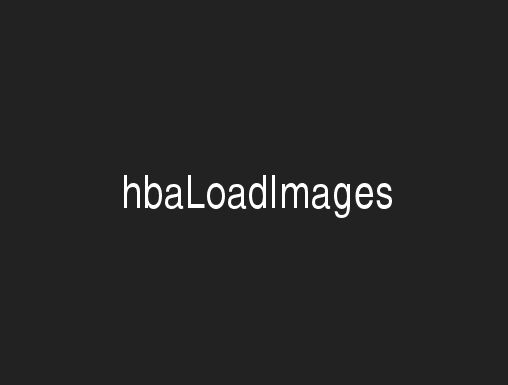 Asynchronous Image Loading with jQuery - hbaLoadImages.js