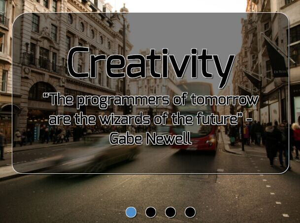 Automatic Fullscreen Background Slideshow Plugin - Harper Banner