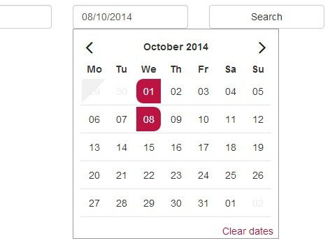 Awesome Date Range Picker Plugin With Jquery And Bootstrap Free