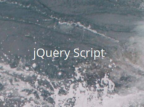 Minimalist Background Parallax Plugin With jQuery - Slock