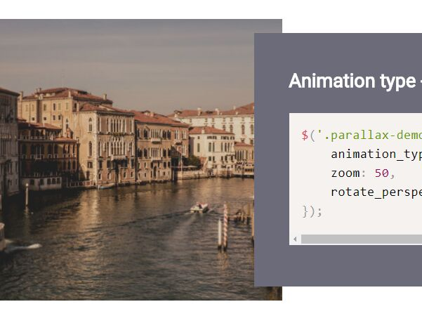 Background Parallax Effect On Scroll Or Mousemove - jQuery parallaxBackground