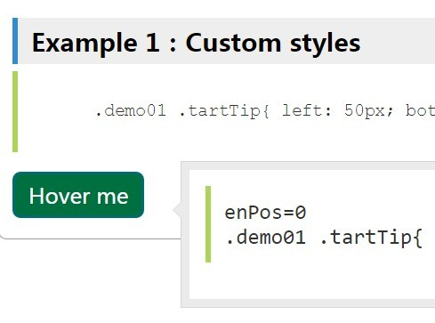 Basic Customizable jQuery Tooltip Plugin - stip