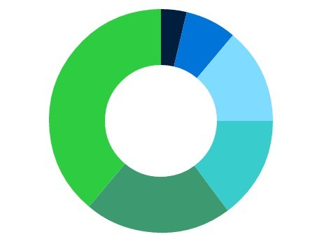 Basic Donut / Ring Chart Plugin with jQuery and Html5