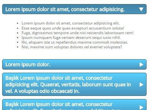 Basic Smooth jQuery Accordion Plugin - bbAccordion