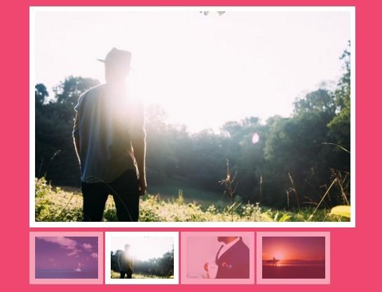 Basic Thumbnail Image Slider Plugin with jQuery - Thumb slider