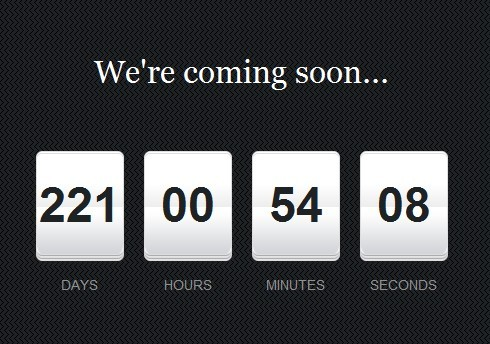 Beautiful jQuery Countdown Timer Plugin