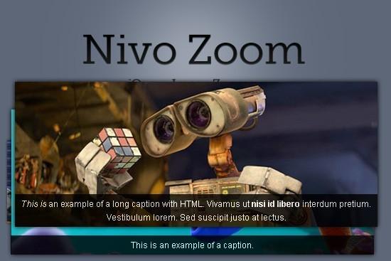 Beautiful jQuery Image Zoom Plugin - Nivo Zoom