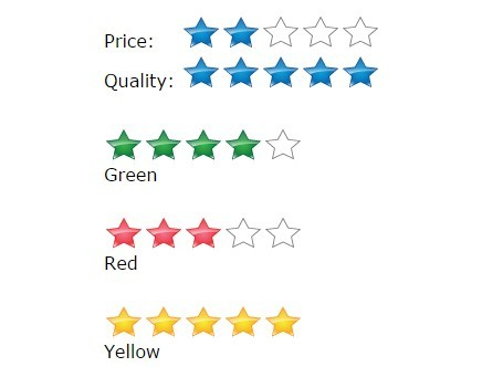 Beautiful jQuery Star Rating Plugin - EWS Rating Stars