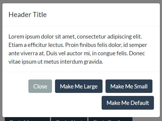 Bootstrap 4 Modal Wrapper Plugin With jQuery